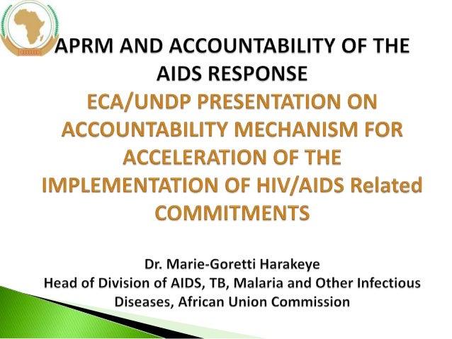 APRM and accountability presentation