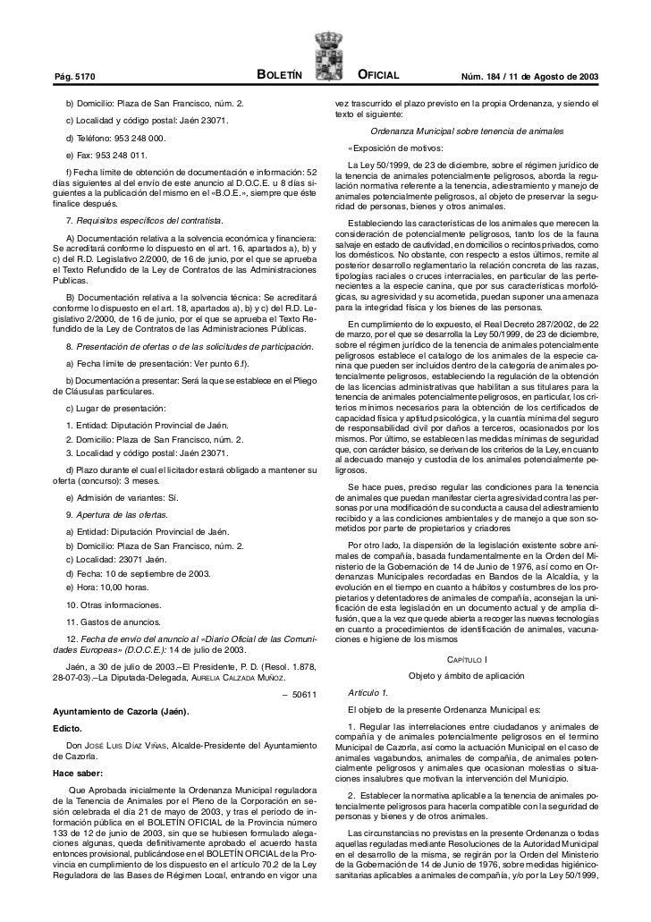 Pág. 5170                                             BOLETÍN                   OFICIAL                      Núm. 184 / 11...
