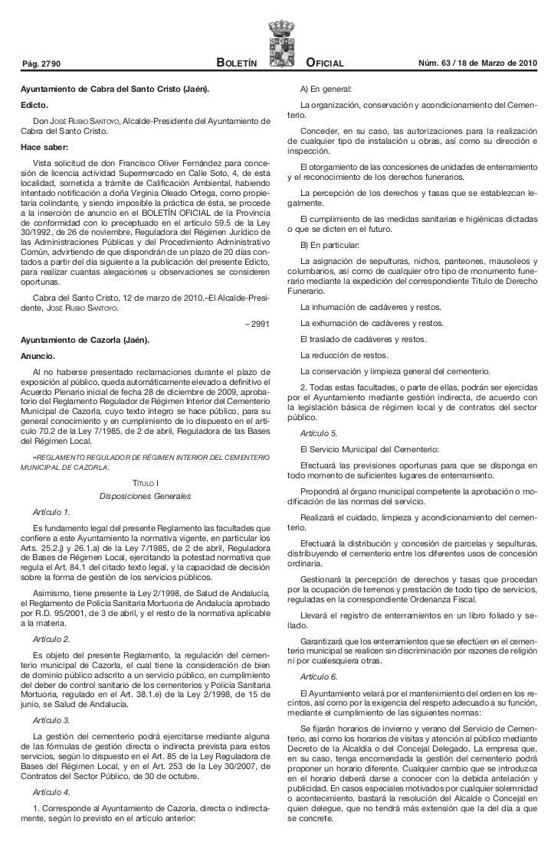 Pág. 2790                                             Boletín                 Oficial                        Núm. 63 / 18 ...