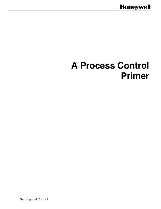 A process control primer