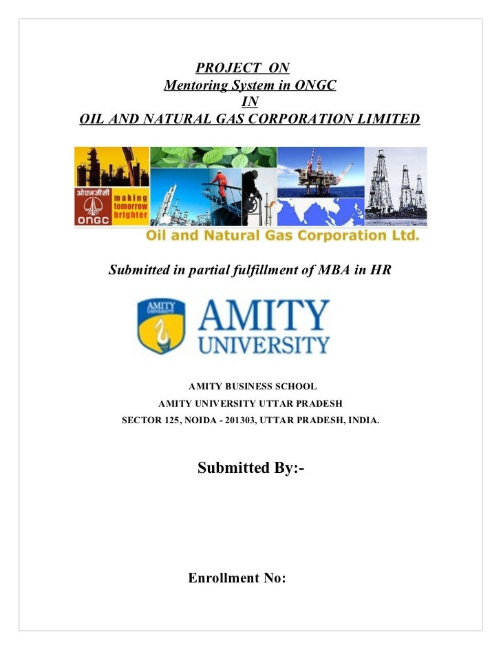 A Project on Mentoring System in ONGC