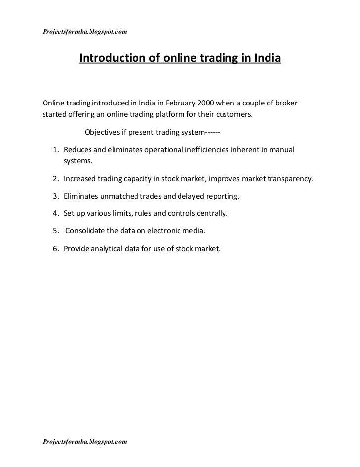 Dse online trading system