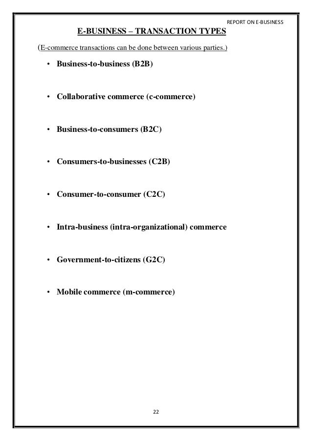 Dissertation On B2B Ecommerce