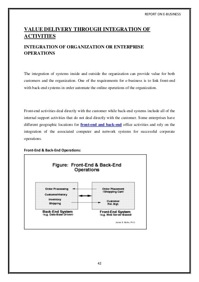Ebusiness And Value Chains Essay Wmestocardcom Ebusiness And Value Chains  Essay