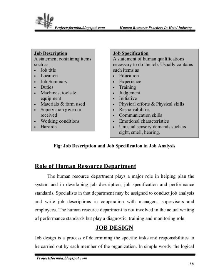 thesis in hotel and restaurant management Thesis title examples for hotel and restaurant management the following examples are acceptable ways of formatting your thesis and chapters when including one or.