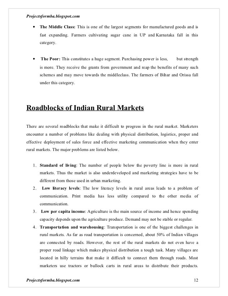 successful rural marketing case studies The case focuses on the rural marketing initiatives undertaken by the cola major - coca cola in india the case discusses in detail the changes brought about by coca cola in distribution, pricing and advertising to make inroads into rural india.