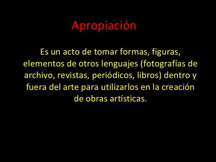 Apropiacion