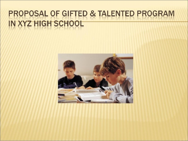   Concept Gifted education is not an elitist education because it does not address a small percentage of the scholar popu...