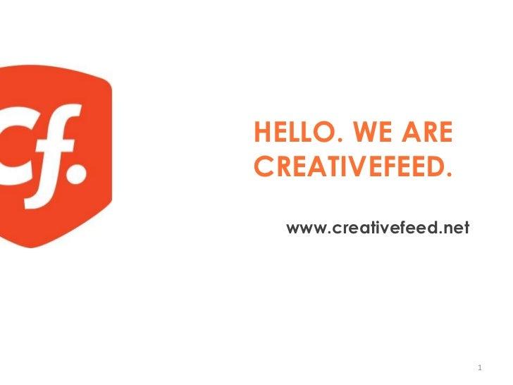 A propos de CreativeFeed Paris