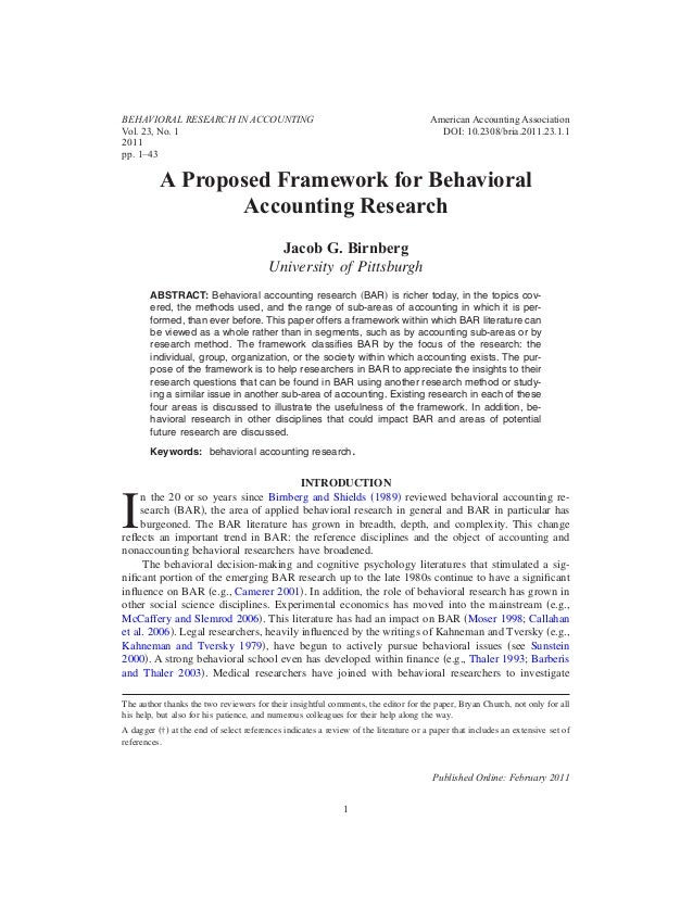 SSRN London Business School Accounting Research Paper Series