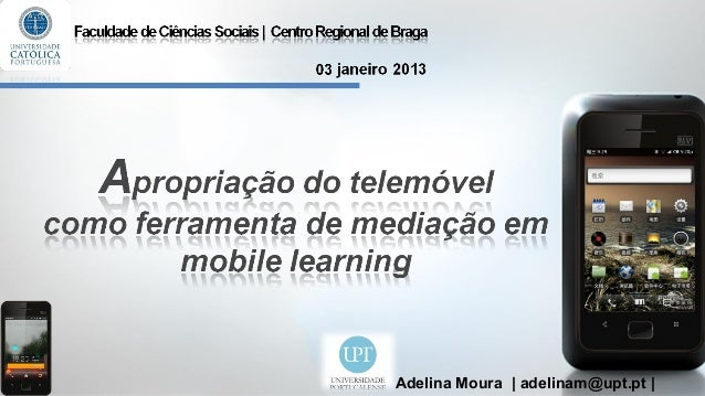 O mobile learning em contexto educativo