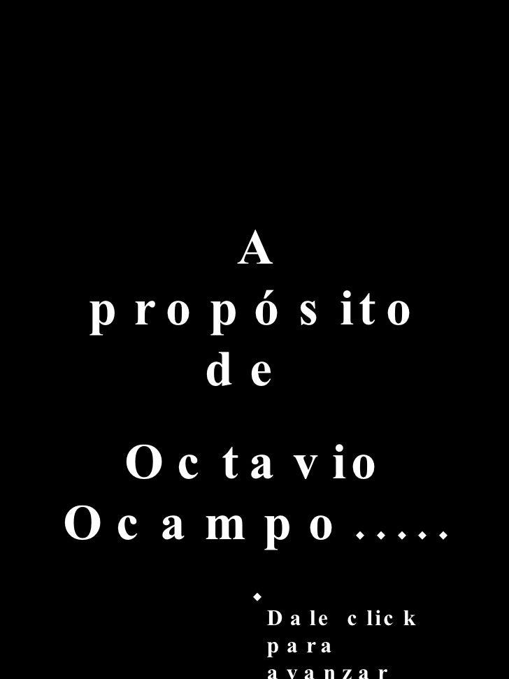 Apropsitode Ocampo