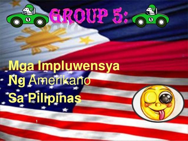 Mga Impluwensya ng mga Amerikano sa Pilipinas sa: Musika, Sining