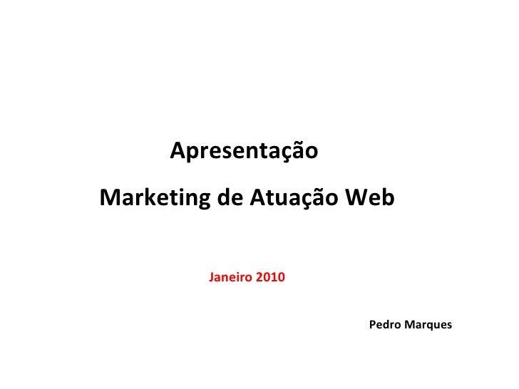 Atuação Web | Estratégias