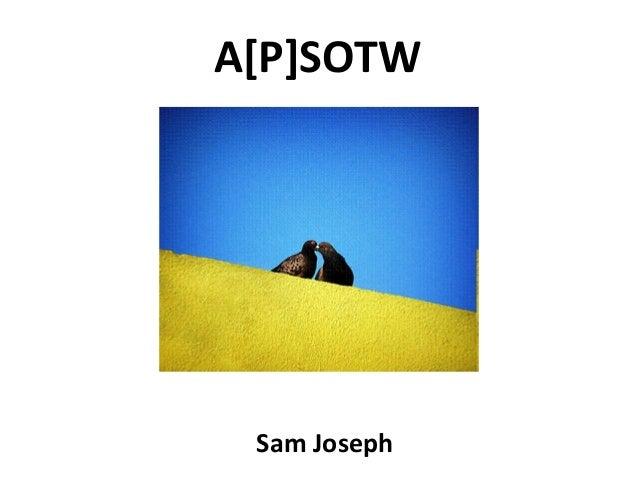 A[P]SOTW Sam Joseph