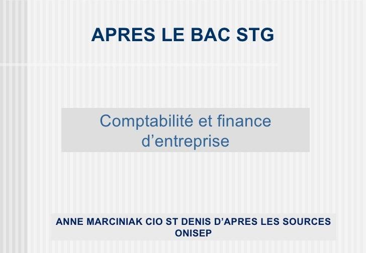 Après le bac STG comptabilité_finance