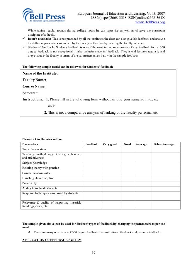 degree appraisals essay Performance evaluation – methods and techniques  scale as well as modern methods such as 360 degree appraisal and  and narrative essays new.