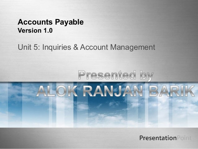 Accounts payable Training 5