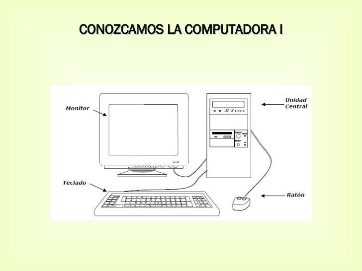 CONOZCAMOS LA COMPUTADORA I