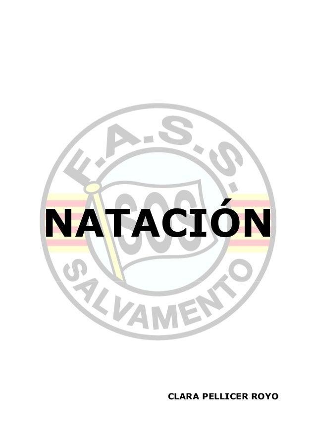 NATACIÓN CLARA PELLICER ROYO