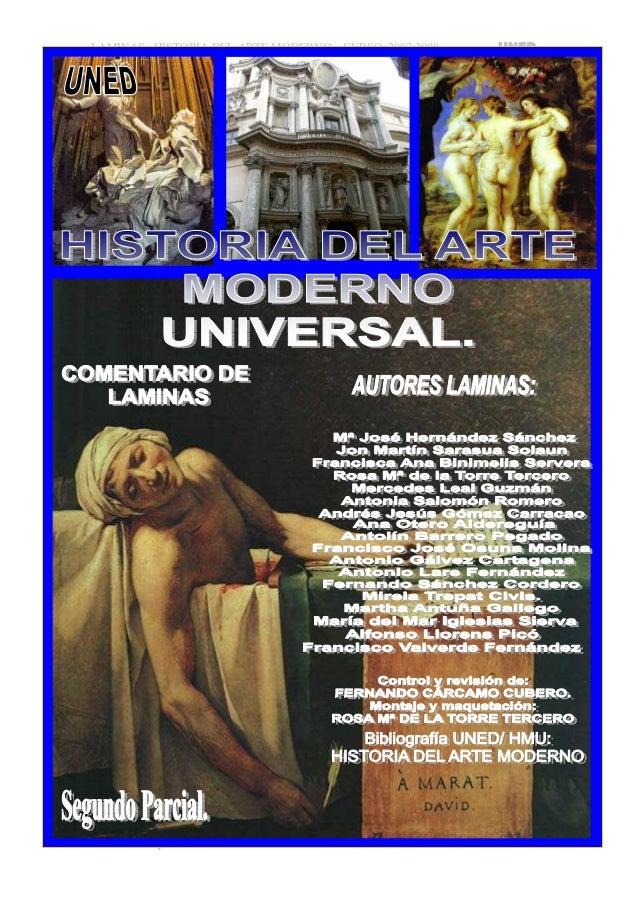 Apuntes licenciatura-comentario-laminas-arte-moderno