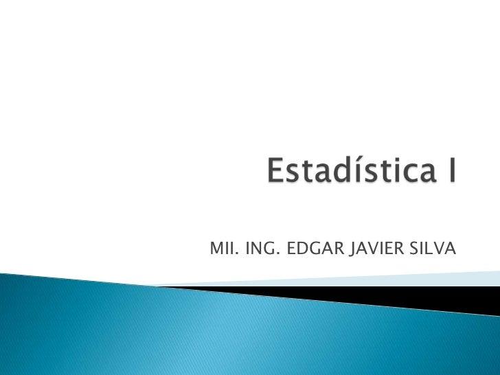 Apuntes Clase Estadistica I(Itsz)