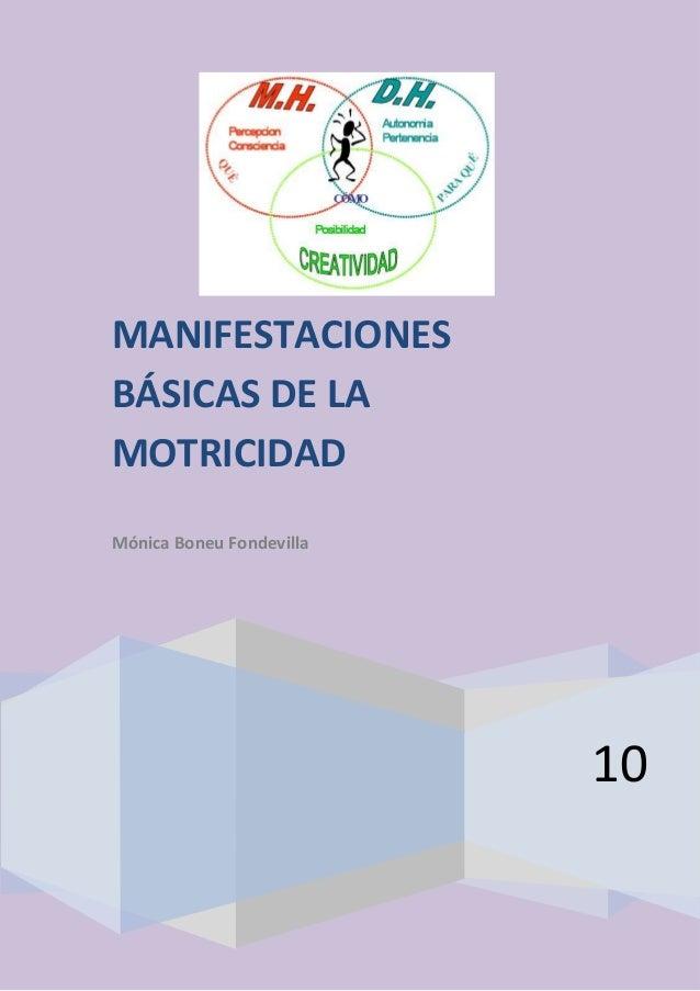 Apuntes motricidad    monica belluci