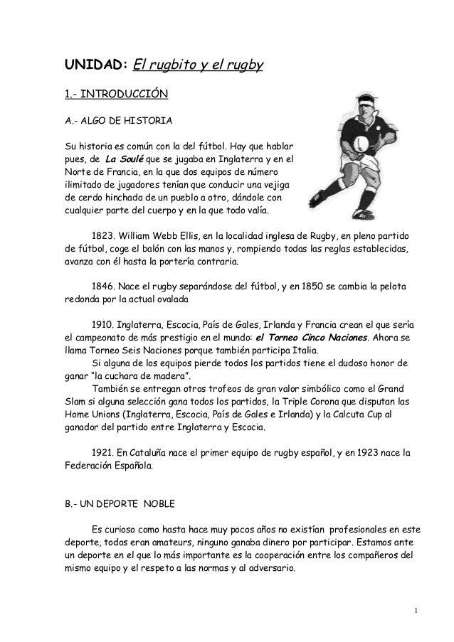 Apuntes rugby 1314