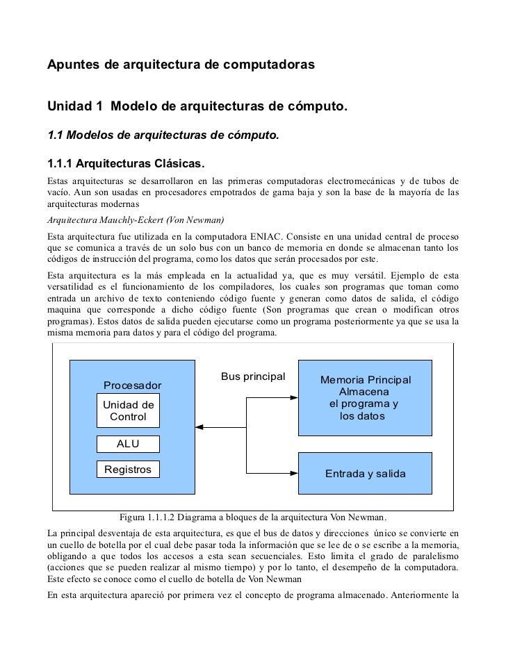 Unidad 1 arquitectura