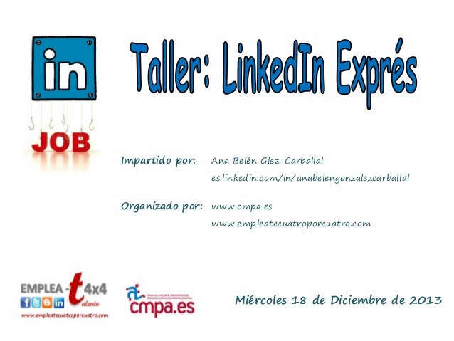 Taller LinkedIn Exprés
