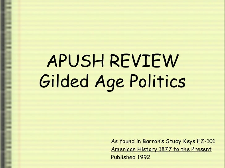 gilded age essay questions apush