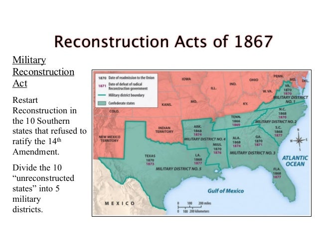 reconstruction policies apush Truman's civil rights policies contributed to the unraveling of the solid democratic  south alienated by the administration's race policies, a faction of conservative.