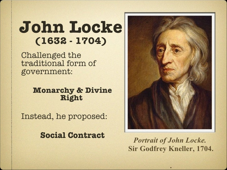 political theory of john locke essay