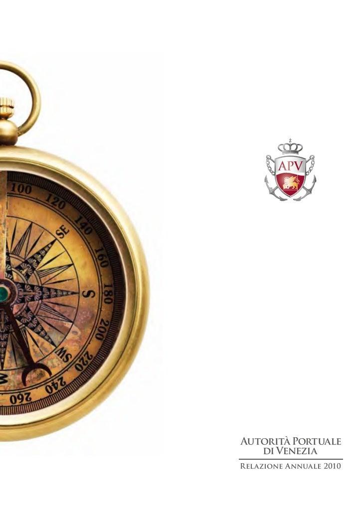 VENEZIA - APV relazione annuale 2011 su 2010