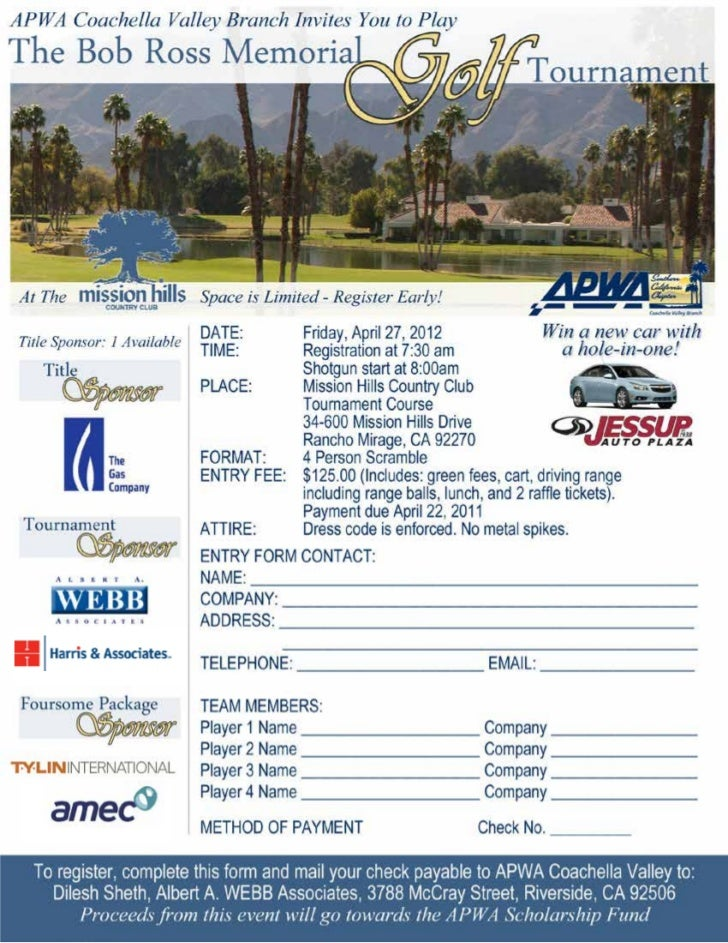 APWA Bob Ross Memorial Golf Tournament_04.27.12