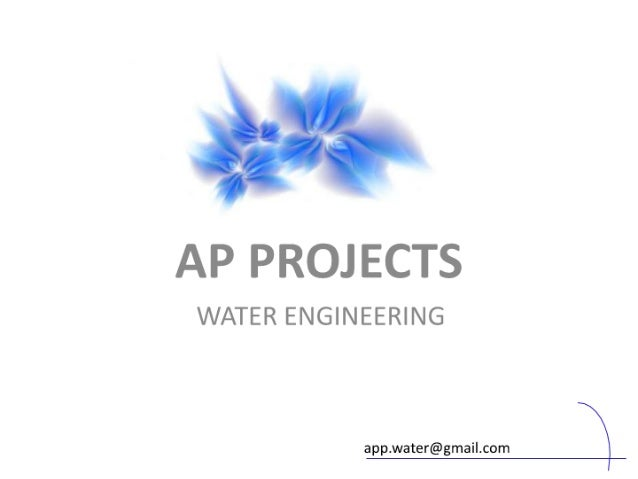#5  AP PROJECTS  WATER ENGINEERING       app. water@gmai| .com