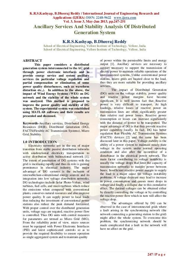 K.R.S.Kashyap, B.Dheeraj Reddy / International Journal of Engineering Research andApplications (IJERA) ISSN: 2248-9622 www...