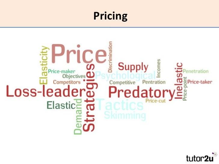 Marketing - Pricing