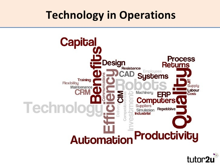 Technology in Operations