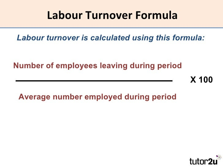 analyse staff turnover its cost and Staff turnover and its in comparison to the margin that results from a situation where there is 30% staff turnover termination cost – hospitality net.