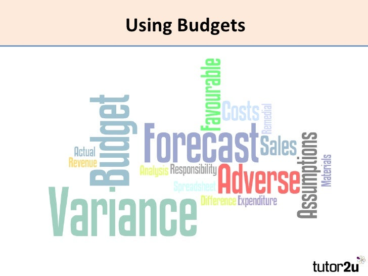 Using Budgets