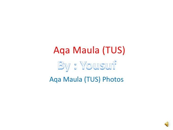 Aqa Maula (TUS) Aqa Maula (TUS) Photos