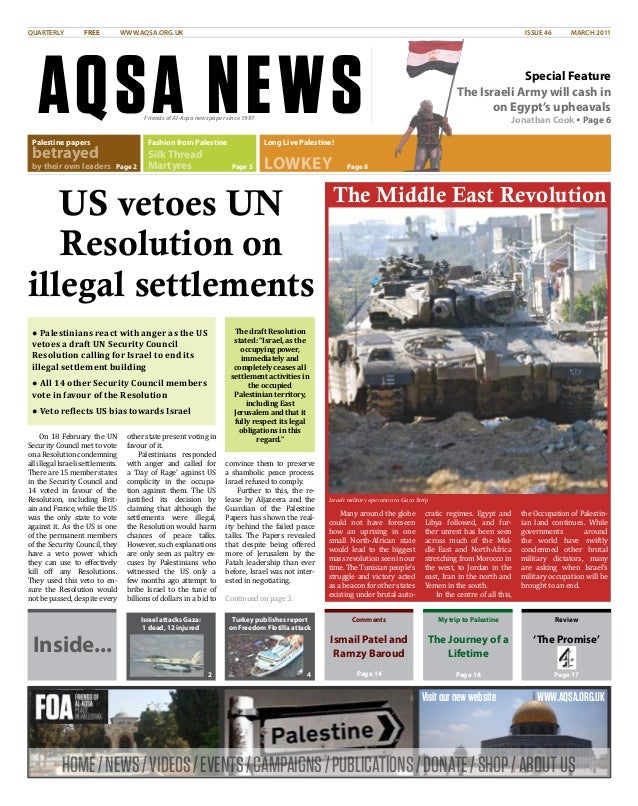 HOME/NEWS/VIDEOS/EVENTS/CAMPAIGNS/PUBLICATIONS/DONATE/SHOP/ABOUTUS Visitournewwebsite WWW.AQSA.ORG.UK AQSA NEWS QUARTERLY ...