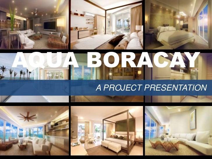 Aqua Boracay Presentation