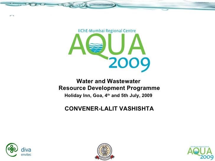 Aqua   Conveners Address