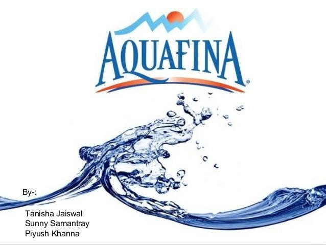 Aquafina by PepsiCo