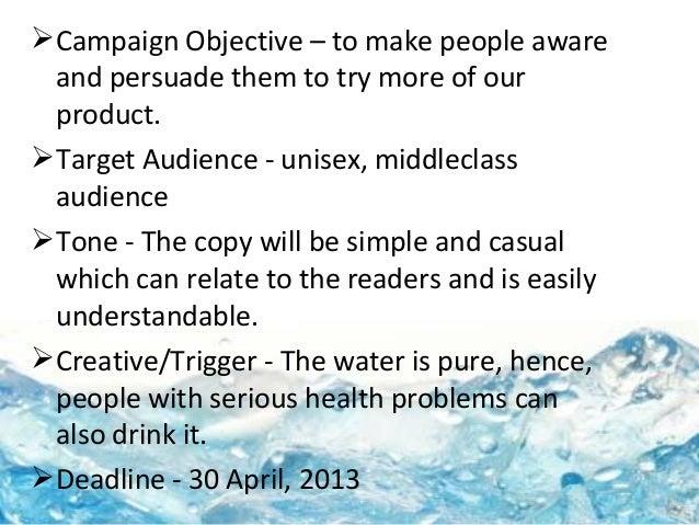 Aquafina Marketing Mix