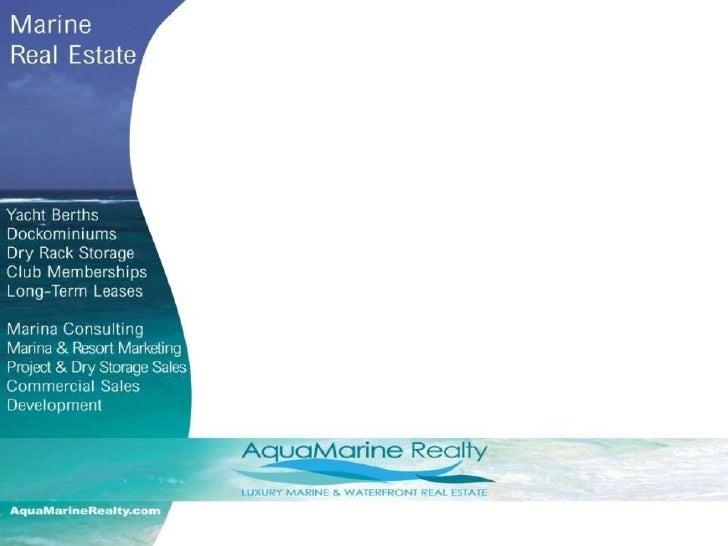 Aquamarine Realty Sales & Marketing 2009 Ppt