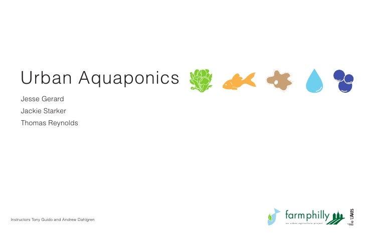 Aquaponics Final Presentation