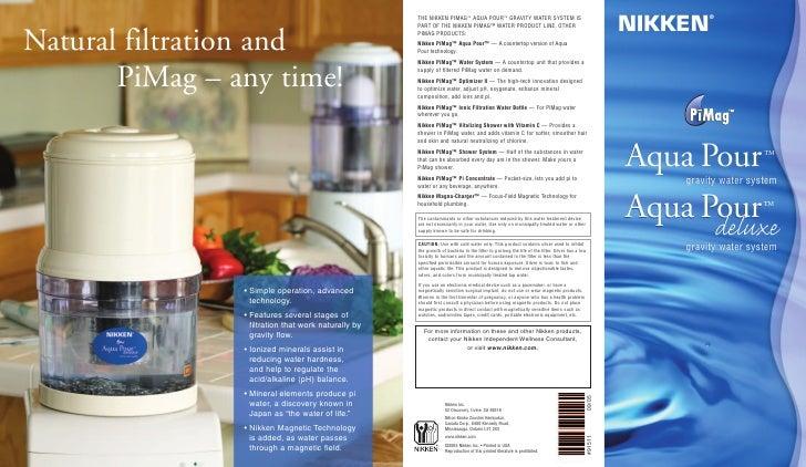 Aqua pour pi mag brochure